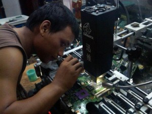kursus repair laptop