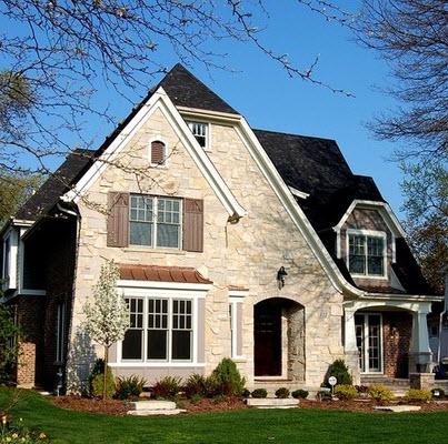 Fachadas de casas r sticas dise os y materiales for John paul greene custom homes