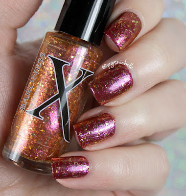 Baroness X Utopia │over Vapid Lacquers Wine O'Clock