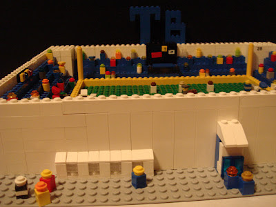 Tampa Bay Rays - Tropicana Field - Lego Micro Creation