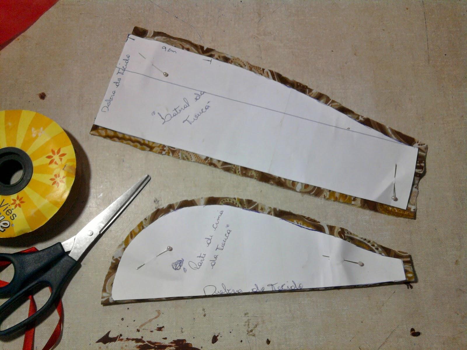 Como Fazer Touca Cirurgica Design De Uma Pequena Cozinha ~ Molde De Touca Para Cozinha
