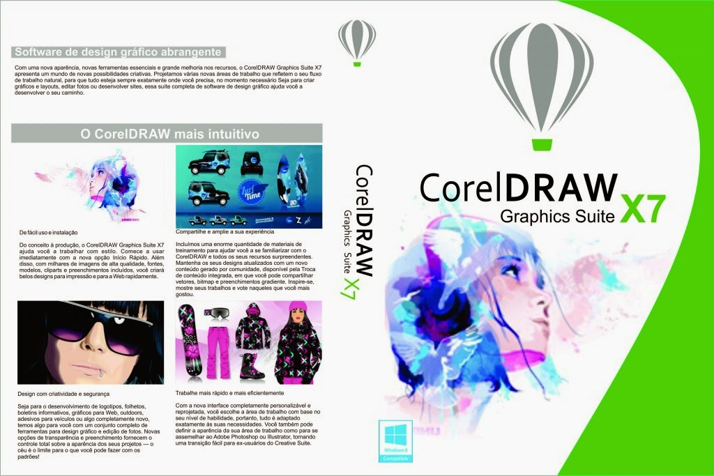CorelDRAW Graphics Suite X7 17.5.0.907 x86/x64 MULTI corel drawx7