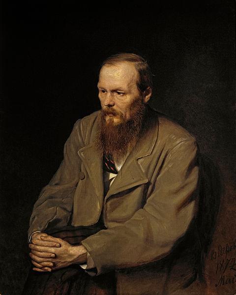 Fiódor Dostoyevski. Retrato por Vasili Perov, 1872