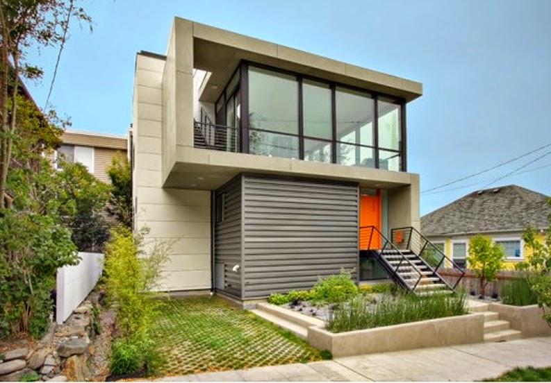 andreyno property desain depan rumah minimalis dengan