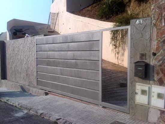 Puertas correderas puertas autom ticas puertas de garaje for Puertas correderas barcelona