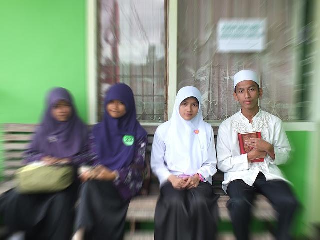Peserta Lomba Syahril Al Qur'an dari MA Nurul Huda Di Tingkat Kabupaten