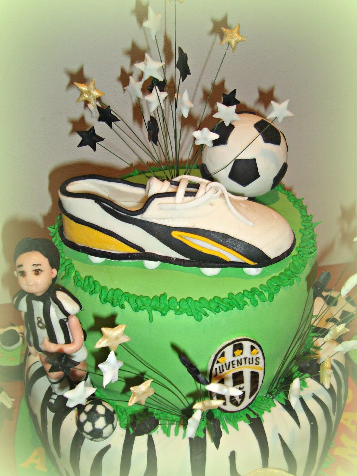Le Torte Decorate Torta Juventus