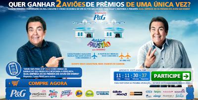 PROMOÇÃO AVIÃO DO FAUSTÃO EM DOBRO 2012