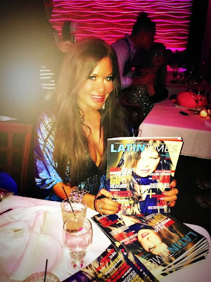 "Actress Diana Laura celebrates her birthday with ""Latin Times"" cover party"