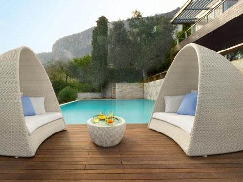 Contemporary Backyard Furniture : Unique Furniture Nowadays Outdoor Furniture