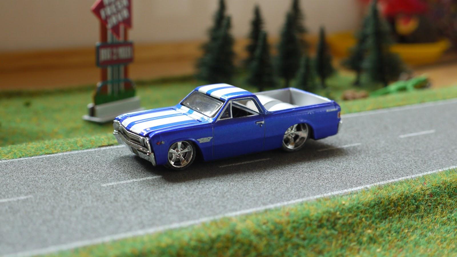 Diecast Cars 1 64 Modellautos 164 Modellbilar Chevrolet El 1968 Camino Ss 1967 Maisto