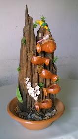 203182 - Cascata móvel em madeira Tam M