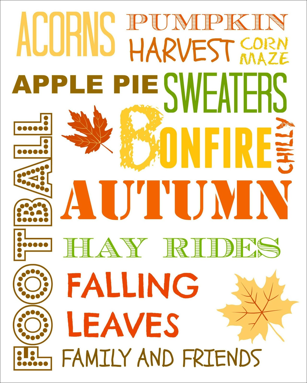 Entryway And Free Printables: Our Fall Entry And A Fall Printable