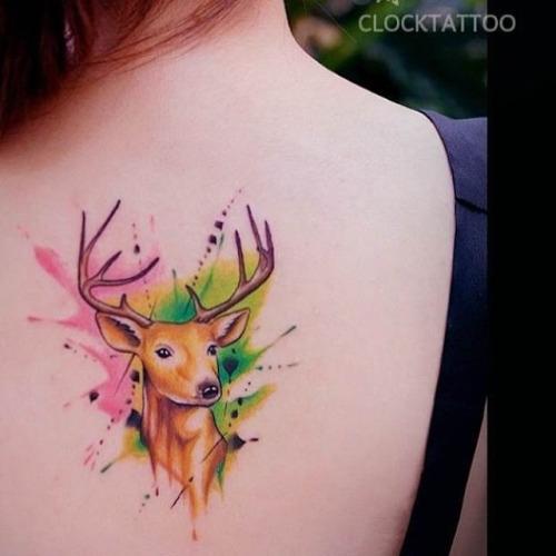 Tatuagem de Cervo