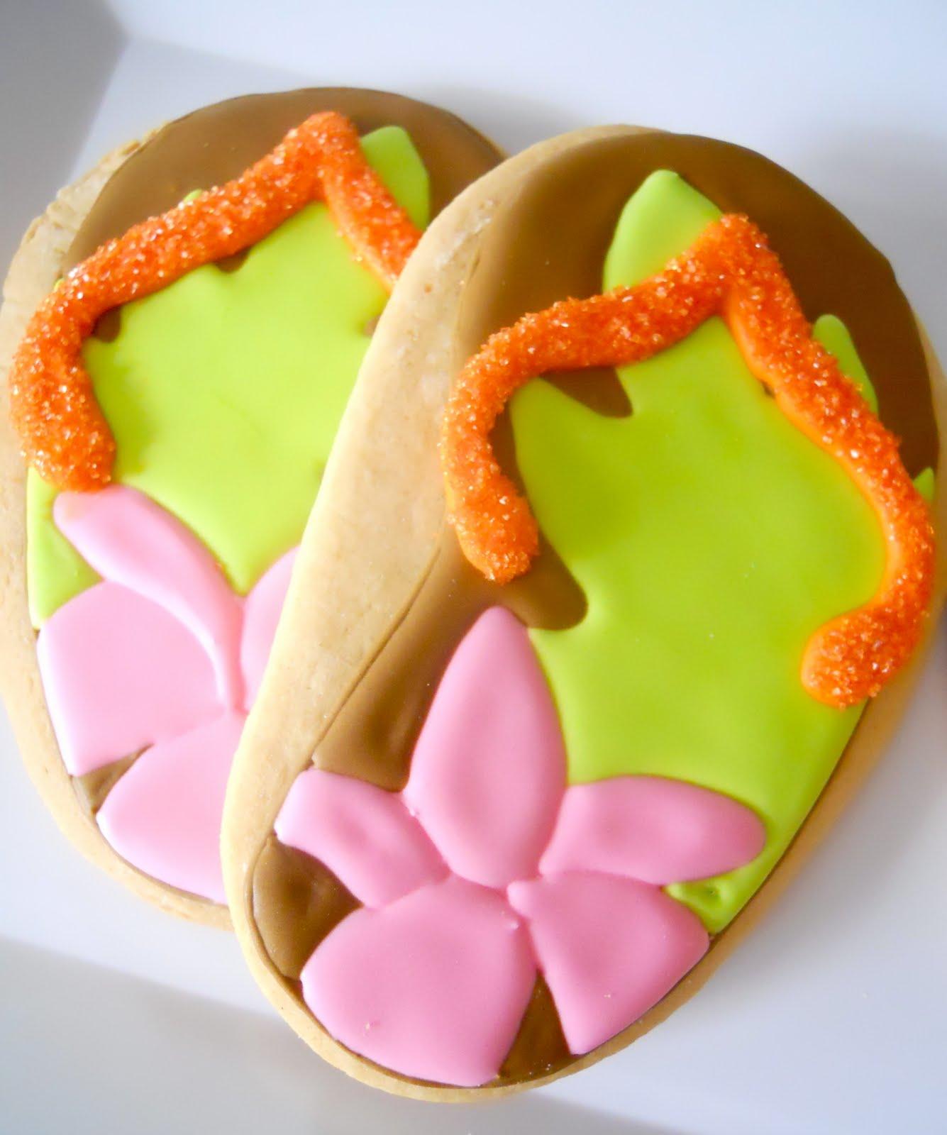 .Oh Sugar Events: Luau Birthday Cookies