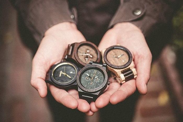 orologi legno naturale