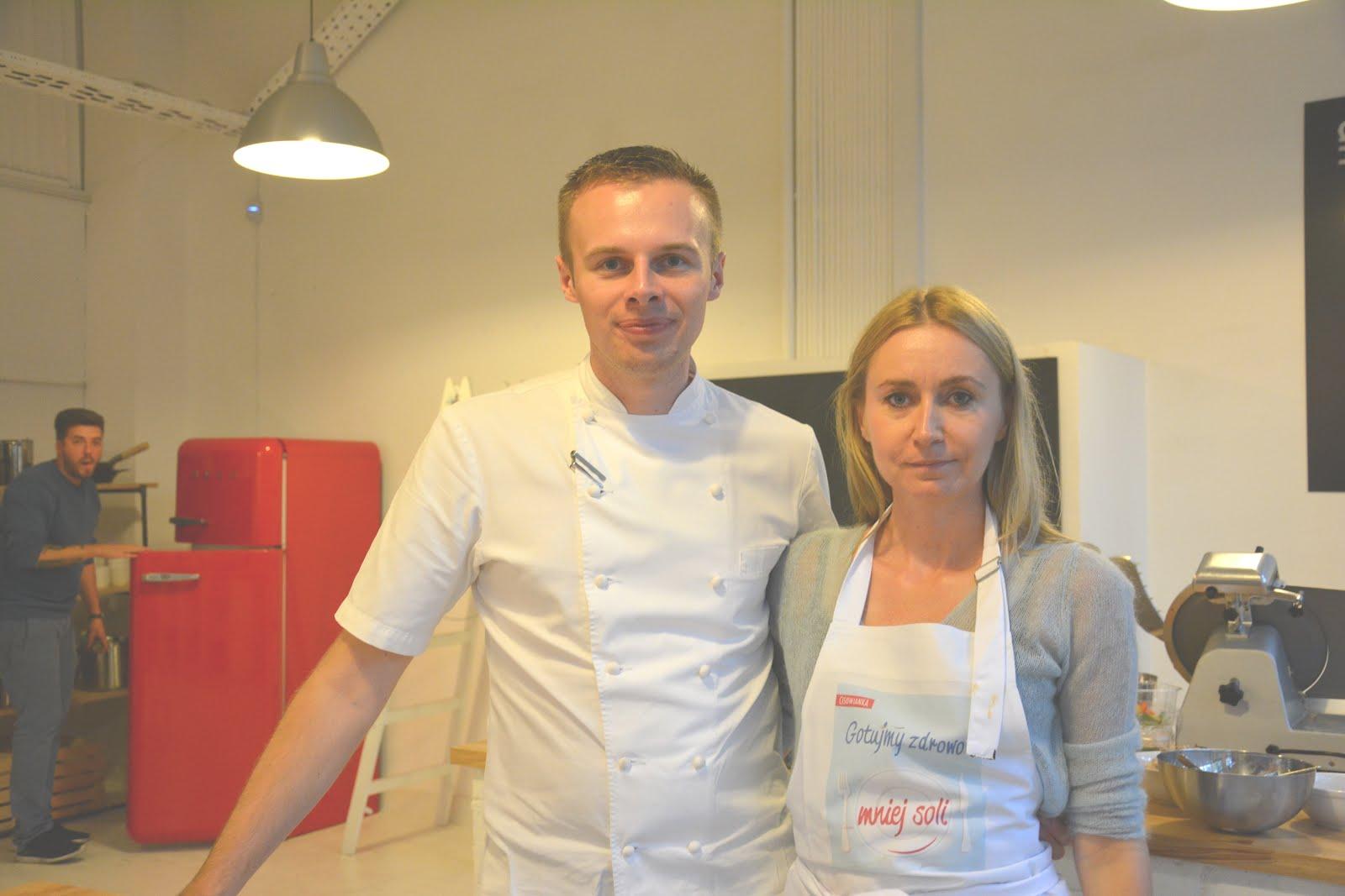 Gotowałam z Sebastianem Olma Top Chef