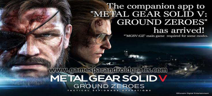 Download METAL GEAR SOLID V: GZ Apk