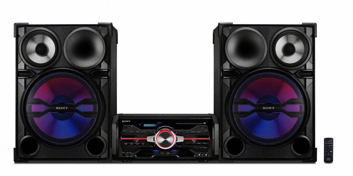 equipo de sonido portable de sony el genezi fst gtk1i un equipo