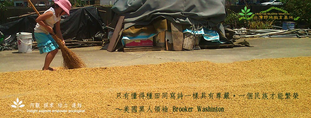 台灣野地教育基地~半農半X 自然農法 體驗課程 彩虹太陽米 宜蘭
