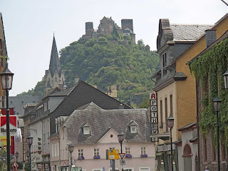 Schoenburg castle Oberwesel Germany