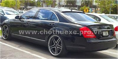 Cho thuê xe Mercedes S550 siêu VIP