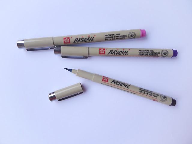Rotuladores Sakua Pigma Brush