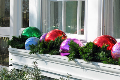 Just grand great big balls of christmas fun - Decoration noel exterieur a fabriquer ...
