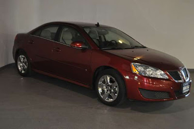 2010 Pontiac G6 Base Sedan