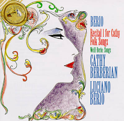 Luciano Berio - Folk Songs - Cathy Berberian