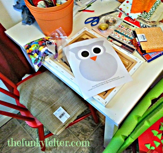 the funky felters creative craft workspace