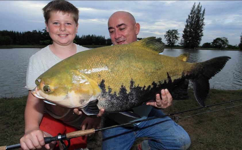 International fishing news thailand junior igfa world for Largest saltwater fish