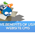 Five Benefits of Using Website CMS