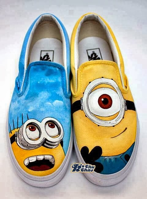 Cute colorful funny shoe fashion styles