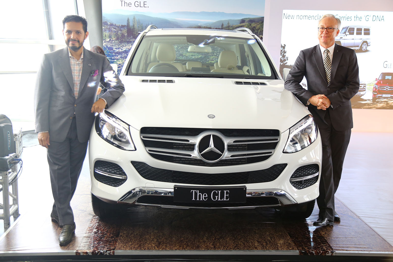 Mercedes benz gle class arrives in india for Mercedes benz prices in india