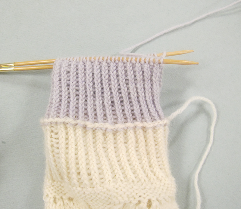 how to add lining to knit mittens
