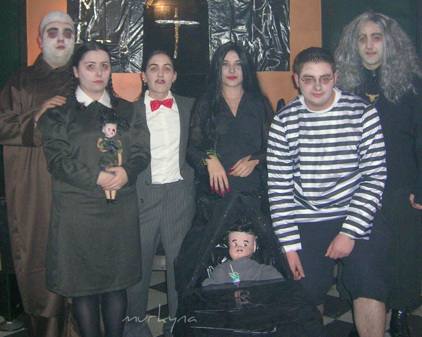murkyna Make Up especial Halloween La familia Addams