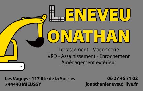 Jonathan Leneveu Terrassement