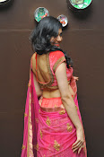 Adah Sharma Gorgeous in Pink Saree-thumbnail-9