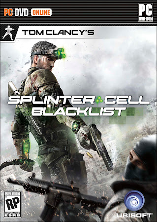Splinter Cell Blacklist Deluxe Edition Multi15 Full RETAIL DVD + Crack 3DM