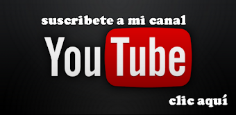 Visita y suscribete a mi canal de Youtube!!