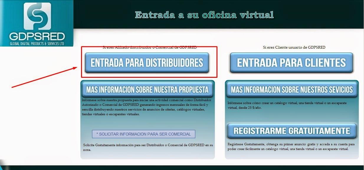 Ayuda gdps red for Oficina virtual internet