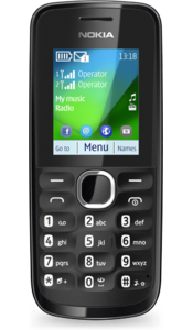 Nokia 110 in Black Color