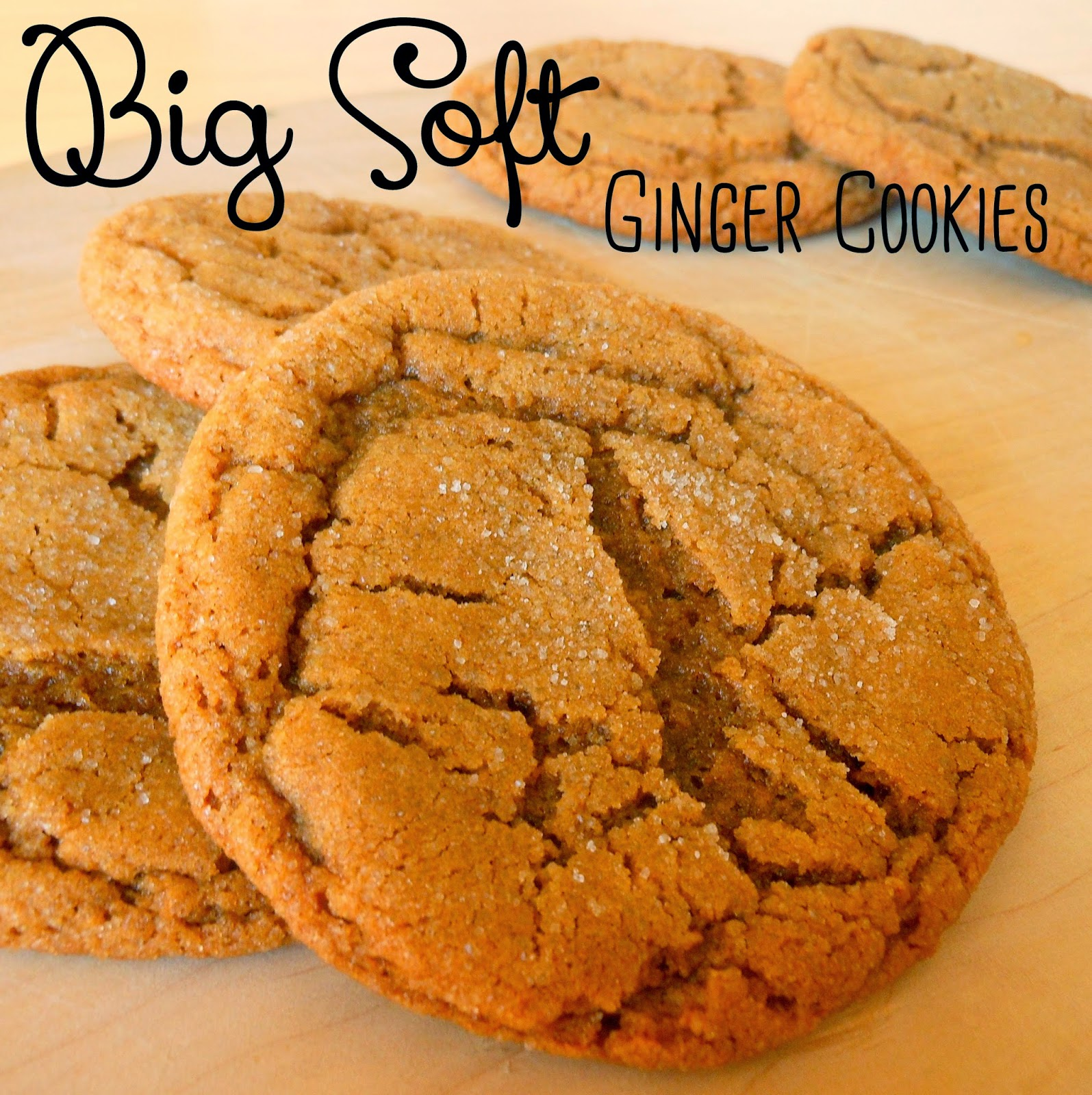 ... Days With My Loves - Adventures in Homemaking: Big Soft Ginger Cookies