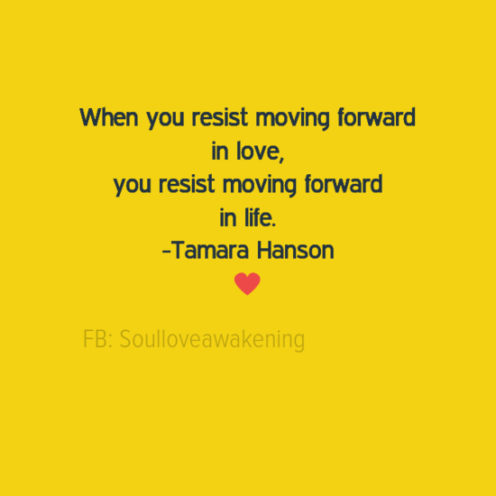 Moving a relationship forward
