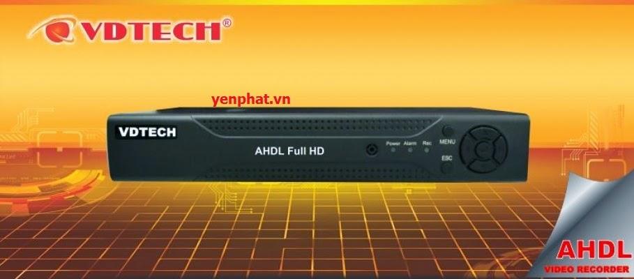 Đầu ghi hình camera Vdtech VDT 2700AHDL chính hãng