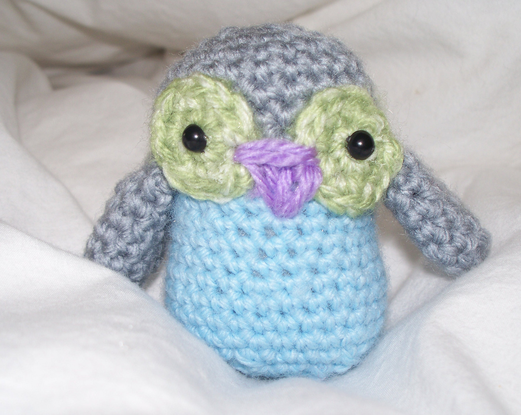 Knitting Amigurumi For Beginners : crochet owl-Knitting Gallery