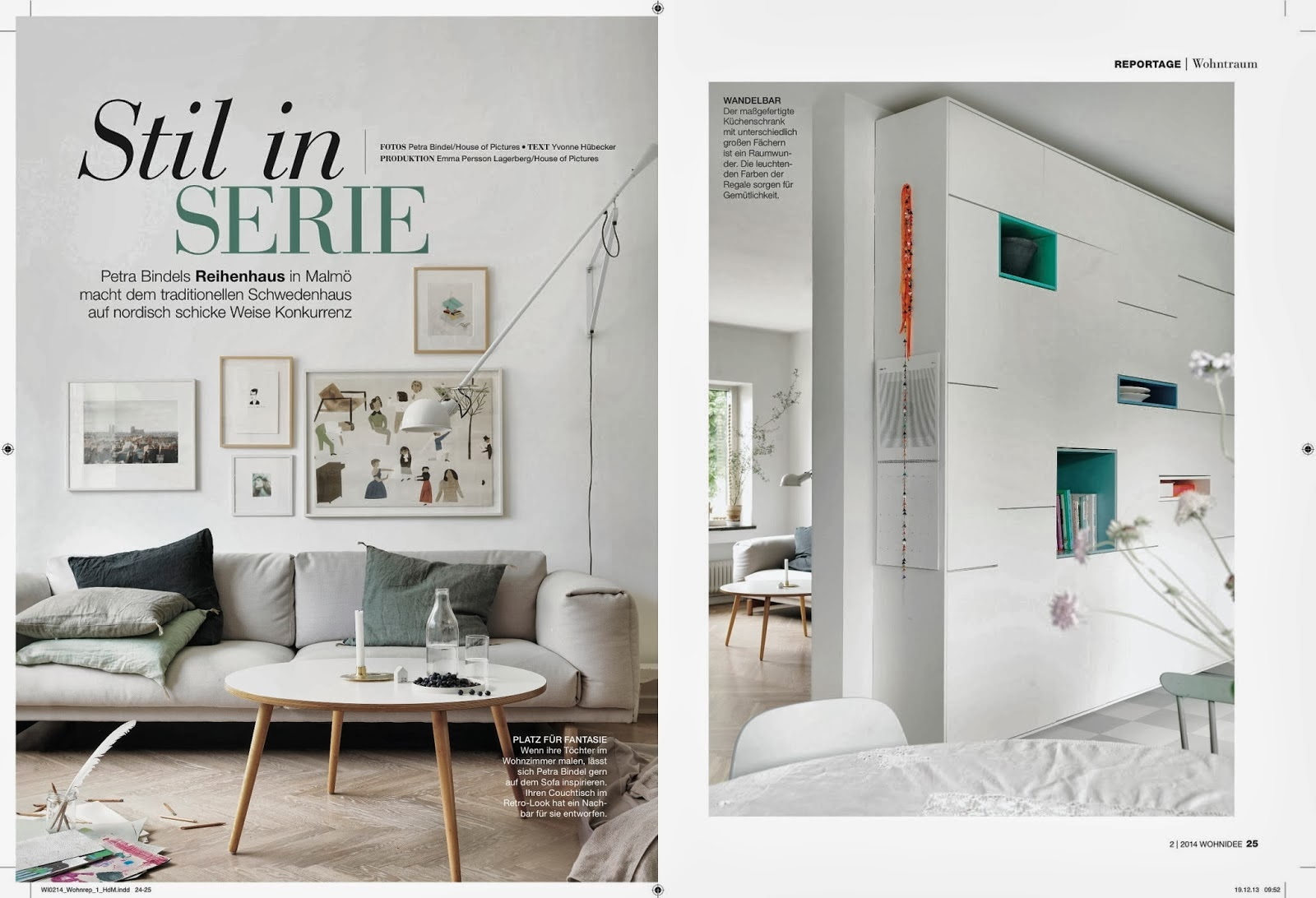 Wohnidee - Petra Bindels home + my styling
