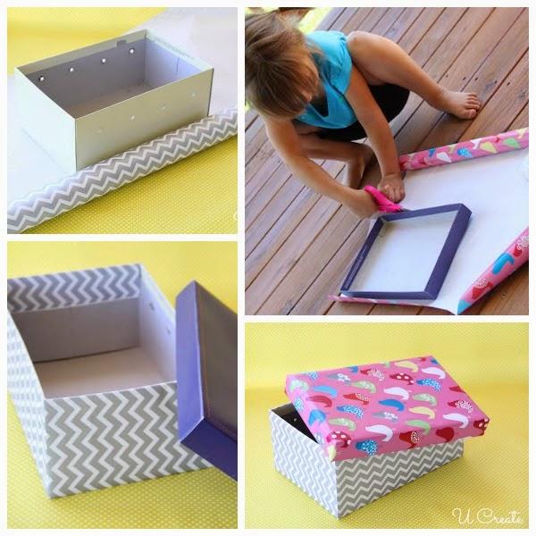 Mesa de Pebolim feita com caixa de sapato - PAP 09