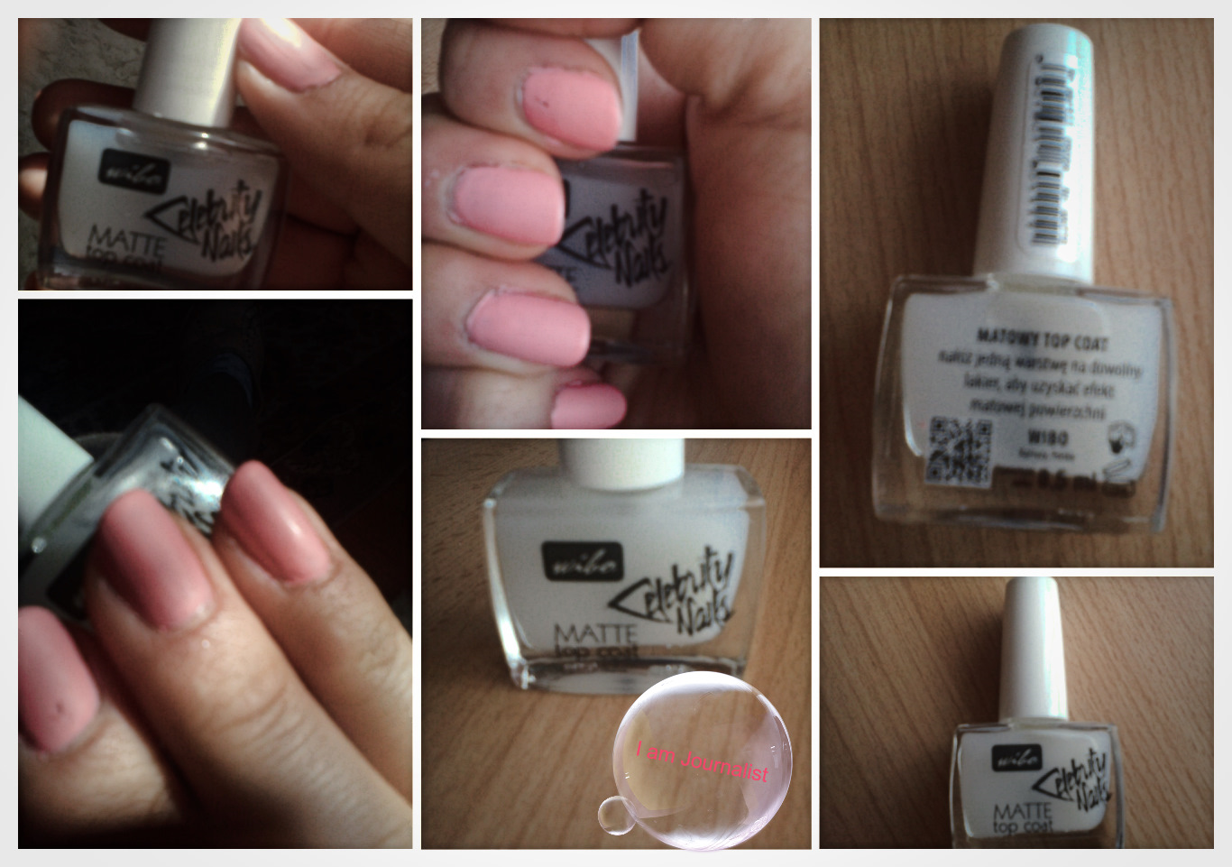 Matowy Top Coat od Wibo
